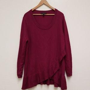 Lane Bryant Sweater Purple Sz 18/20